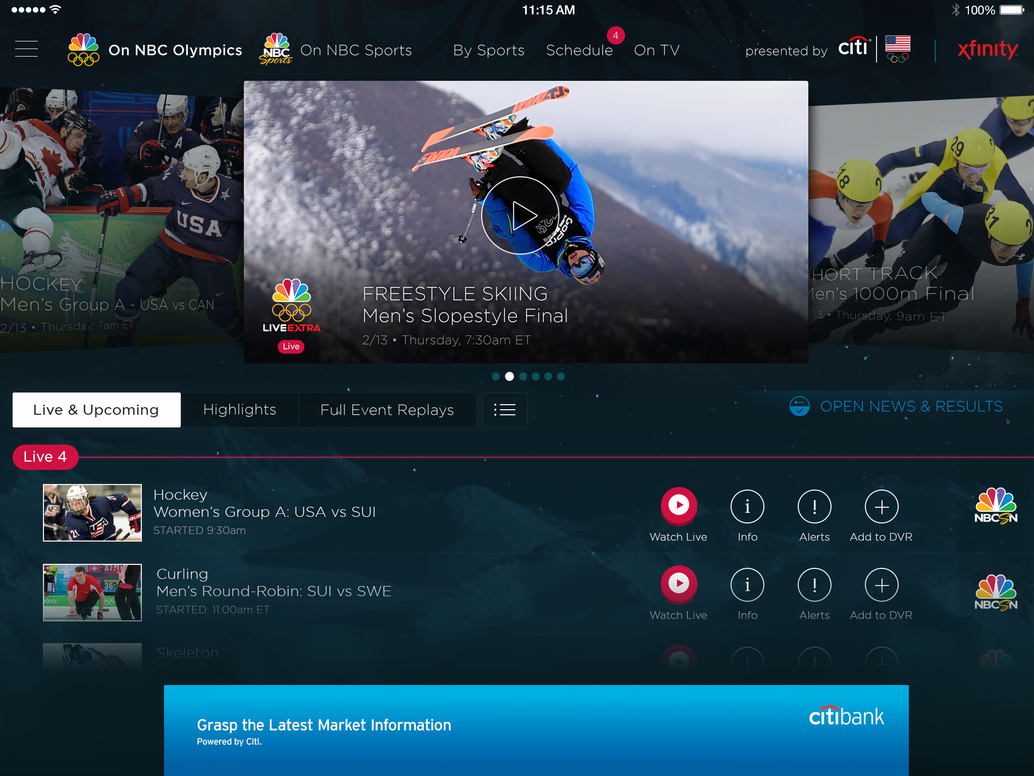 Coverage the network will live stream 1000 plus hours of olympic