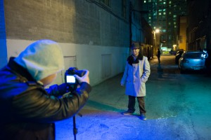 AN.X.O web series production promo stills