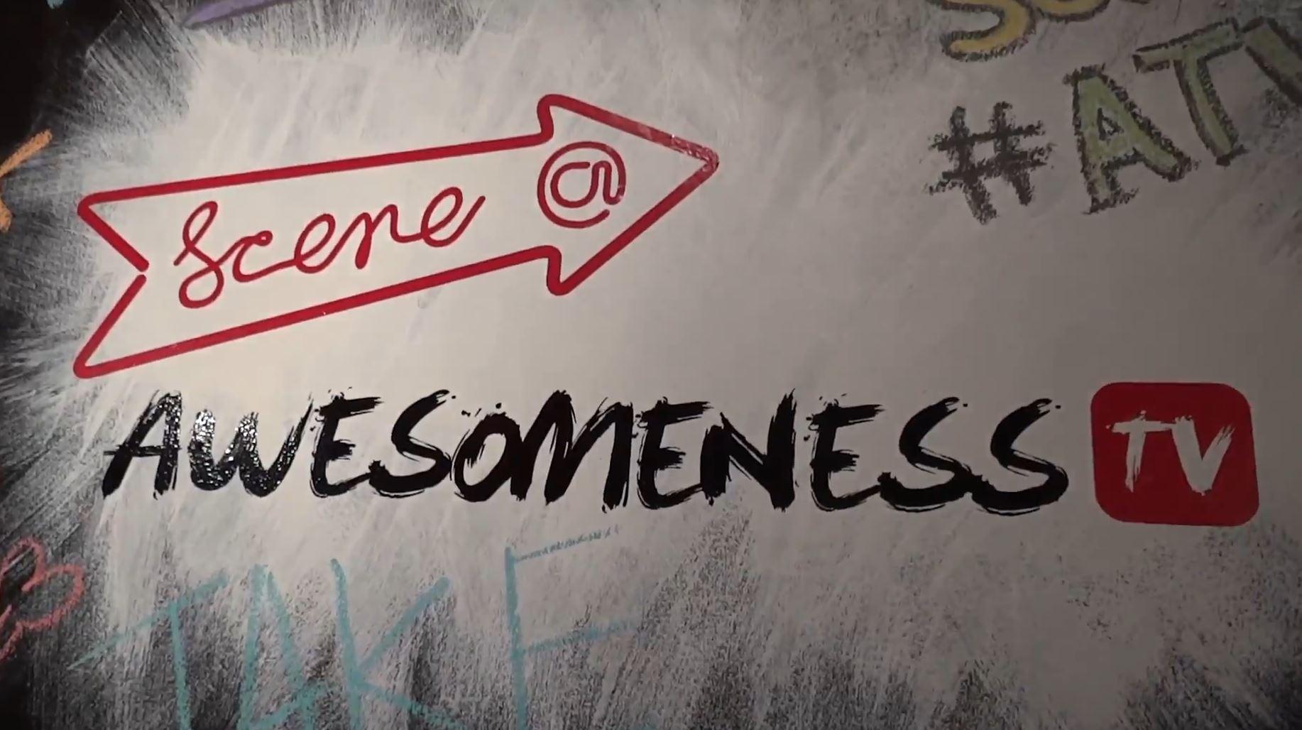 Scene@Awesomeness Chalkboard
