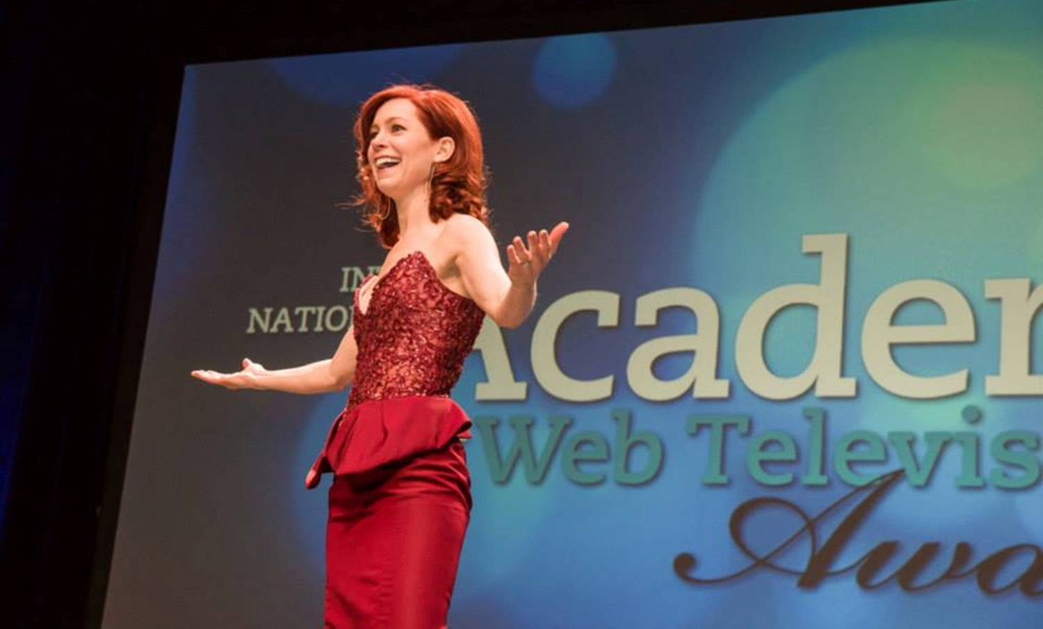 IAWTV Awards Carrie Preston