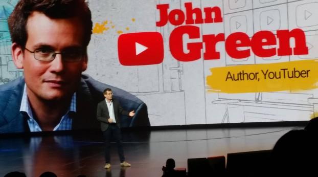 YouTube Brandcast John Green