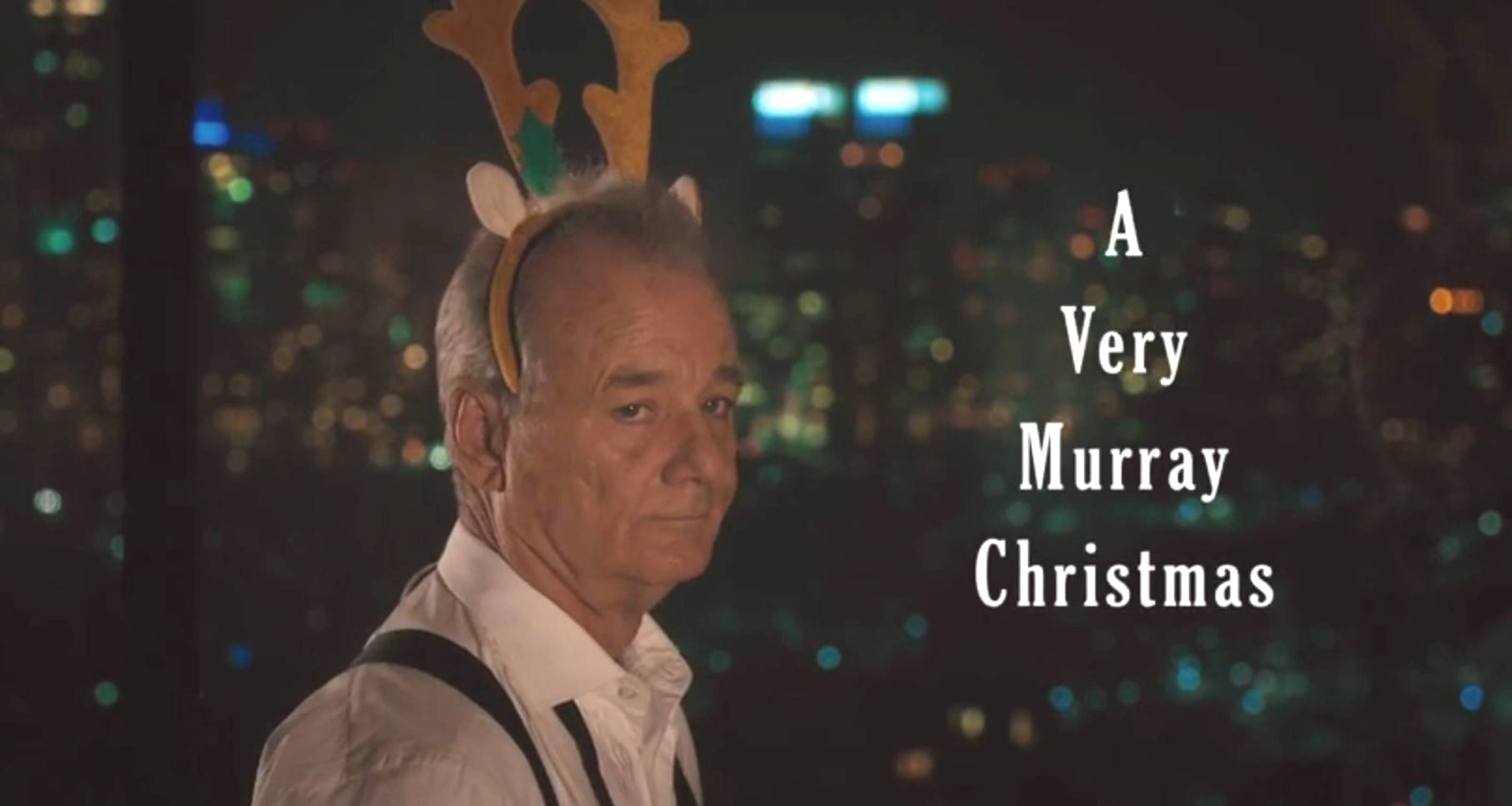 Bill Murray A Very Murray Christmas