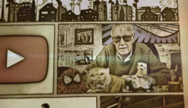 YouTube Spaces World of Superheroes Stan Lee