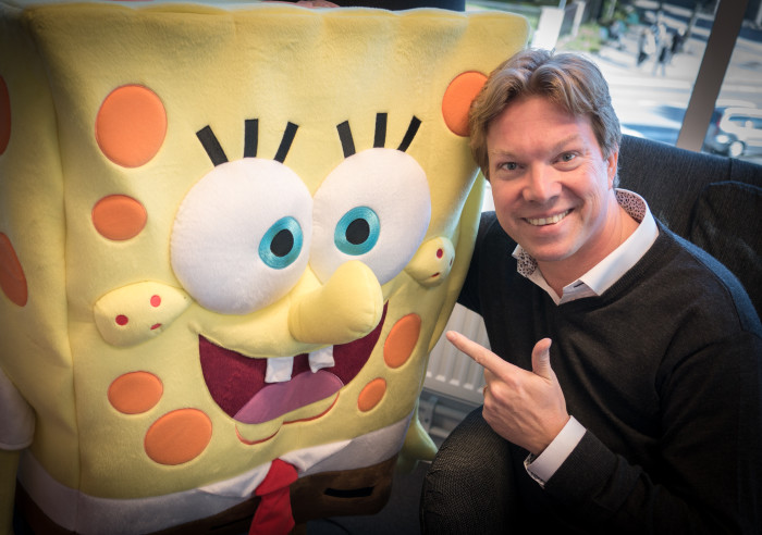 Rikard Steiber and Spongebob