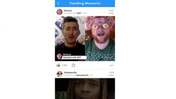 YouNow.trending moments page